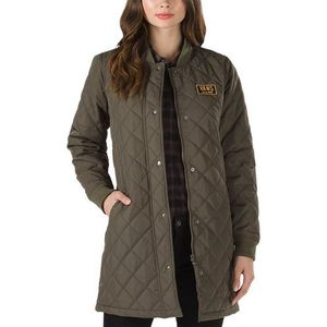 plaszcz VANS - Boom Boom Quilted Coat Grape Leaf (KCZ) rozmiar: XS