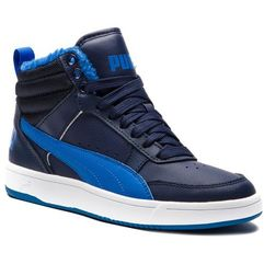 Sneakersy PUMA - Rebound Street V2 Fur Jr 363919 05 Peacoat/Strong Blue/White, kolor niebieski