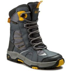 Śniegowce JACK WOLFSKIN - Boys Snow Ride Texapore 4012042 Burly Yellow XT S