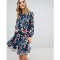 floral drop waist dress - multi, Zibi london