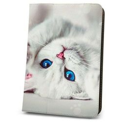 "Prezent - Uniwersalne etui do tabletów 7-8"" cute kitty marki Telforceone"