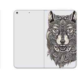 Apple iPad (2017) - etui na tablet Flex Book Fantastic - aztecki wilk