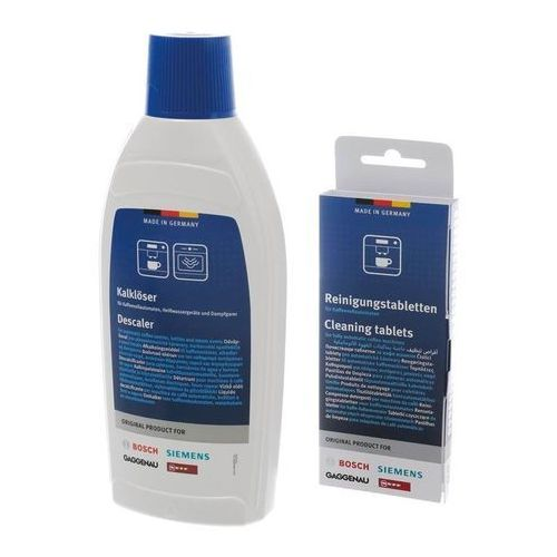 Bosch Cleaning tablets and liquid descaler
