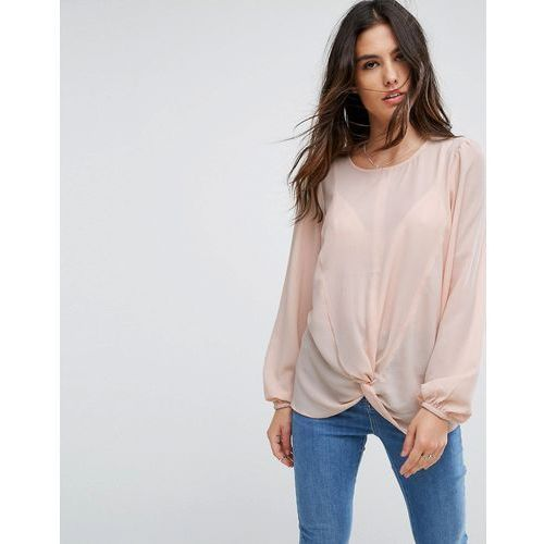 Y.A.S Knot Top - Pink