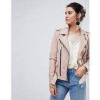 leather jacket - pink, Y.a.s